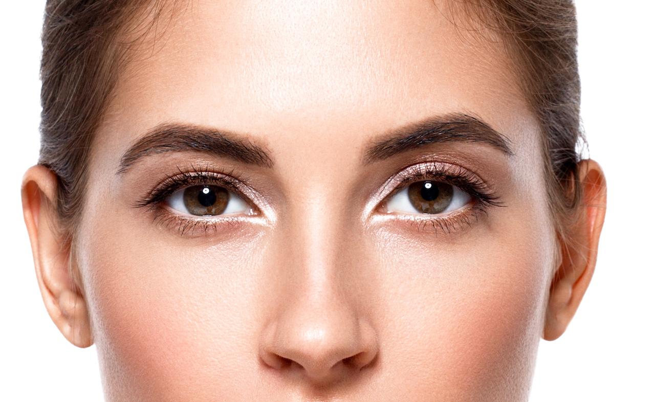 Verkleinerung von großen Poren